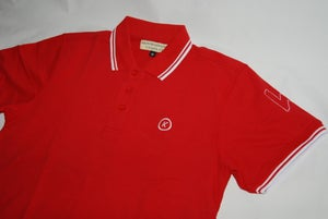 Image of Red TrademarK Polo