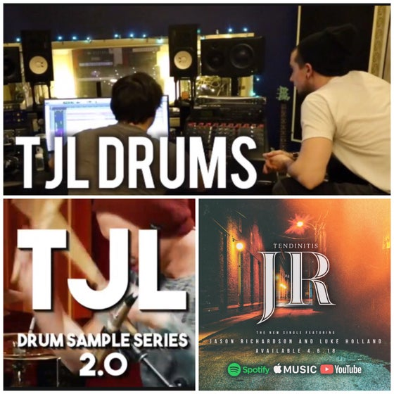 Image of TJL Drums, TJL 2.0 & TJL 3.0 Bundle