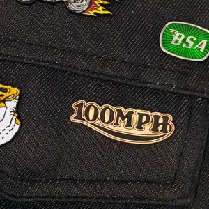 Image of 100MPH Pin