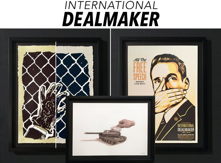 Image of INTERNATIONAL DEALMAKER - SIGNED PRINT SET!