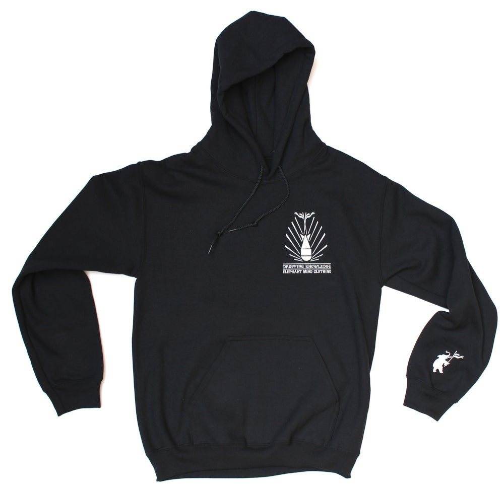 Image of DROPPING KNOWLEDGE HOODIE