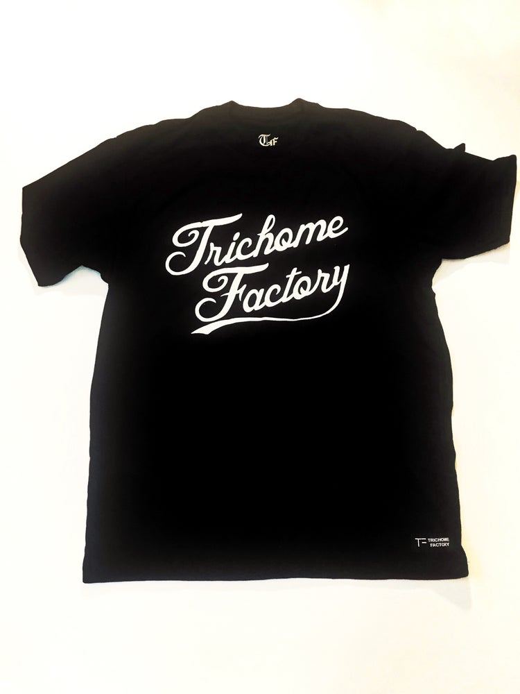 Image of The Factory T- Black