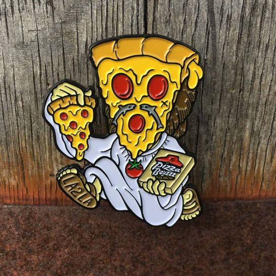 Image of RESTOCK!! RUN FOR IT SUPER CHEESUS PIN (2 INCH)