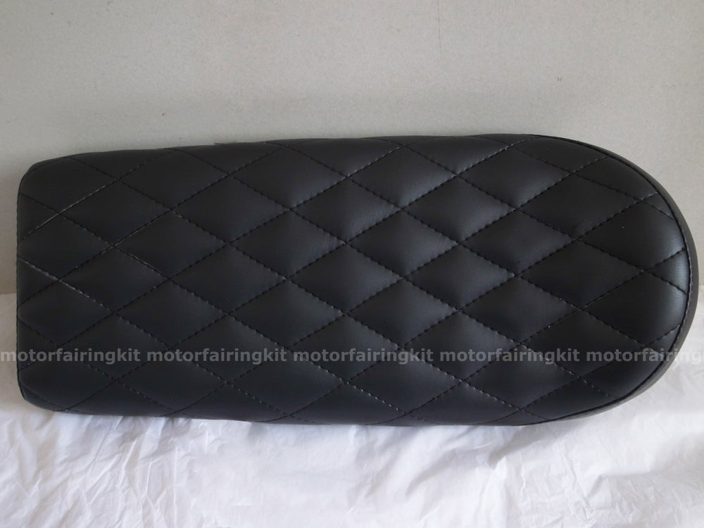 Image of Diamond Upholstered seat - black