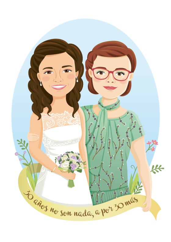 Image of Ilustración personalizada por encargo
