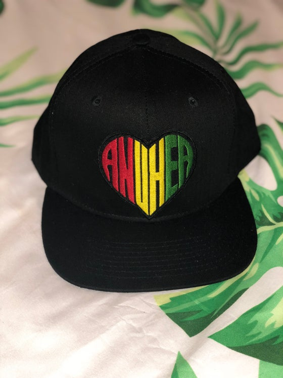 Image of RYG Anuhea Patch Snapback - Black