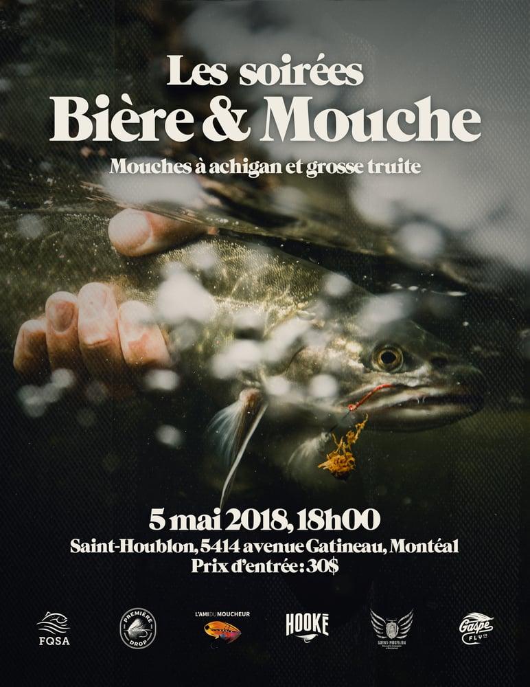 Image of Soirée Bière et Mouche 2e édition
