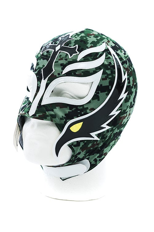 Image of Rey Mysterio x SPLX Authentic Lucha Mask (Camo)