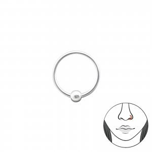 Image of Sterling Silver Nose Ring