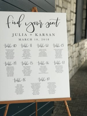 Image of Wedding signs