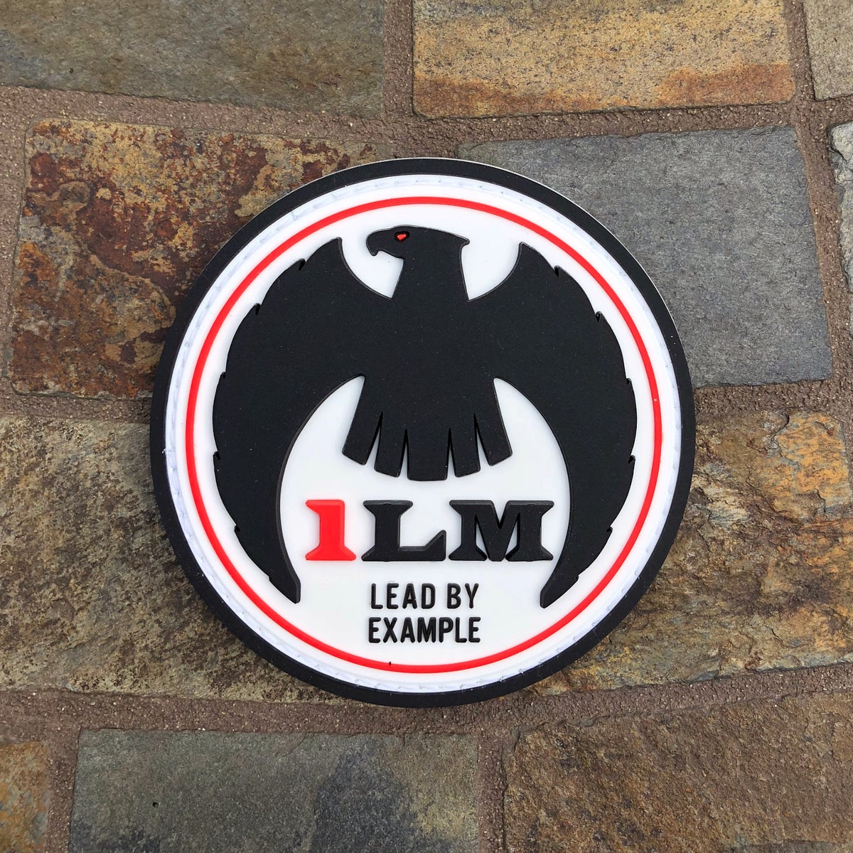 "Image of 1LM Patch - 3""x3"" White"