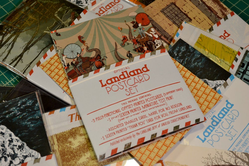 Image of Official Landland Postcard Set (Vol. 2)
