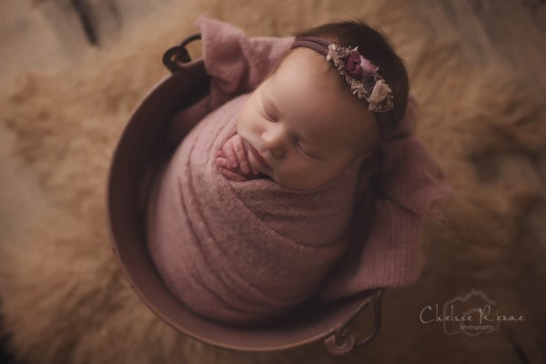 Image of Newborn Petite Swaddle Session
