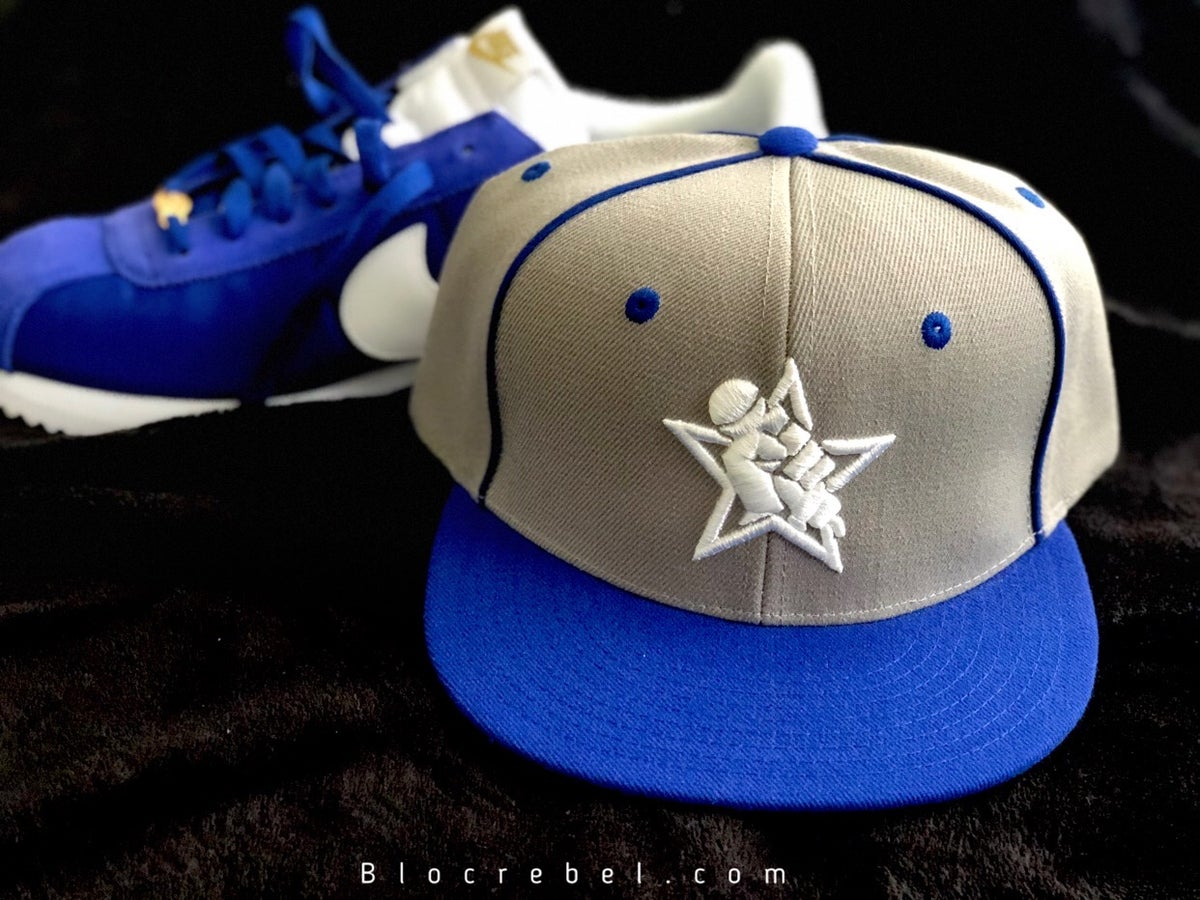 Image of Limited Edition Blue BR Logo Snapback
