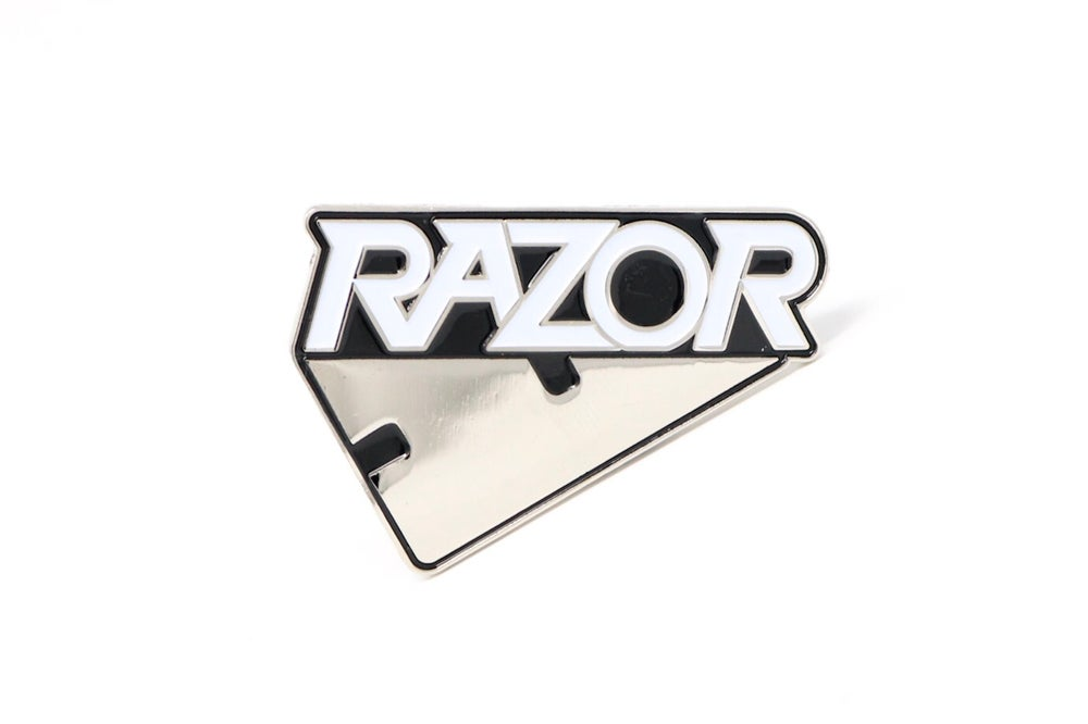 Image of Razor Logo Enamel Pin