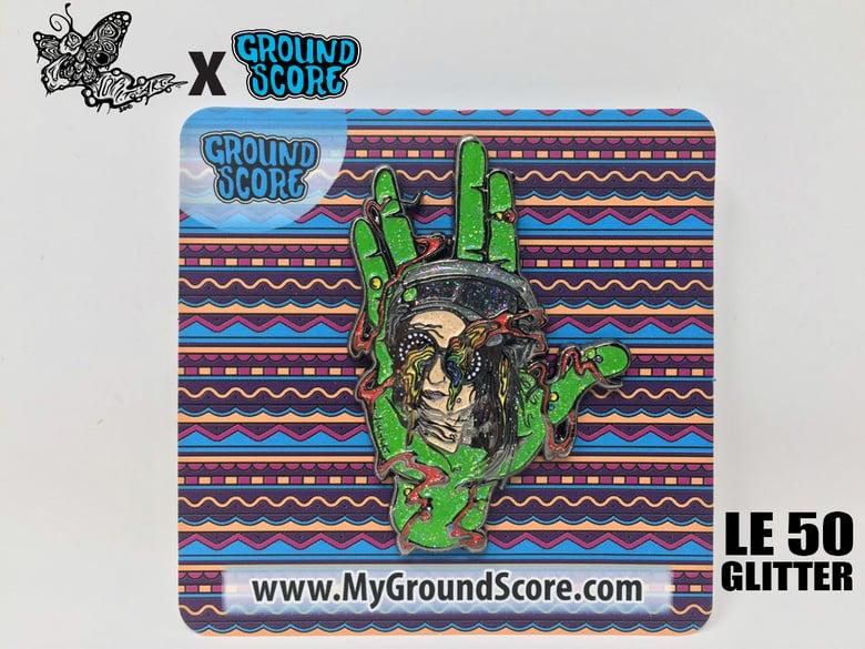 Image of Vomitart - Spring Gathering REZZ 3D Pin (LE 50)