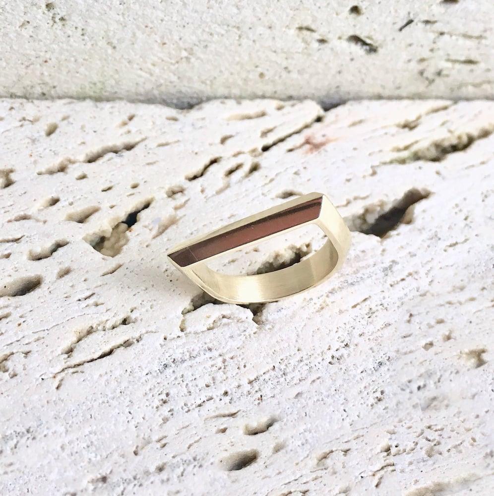 "Image of Knife edge ""D"" ring"