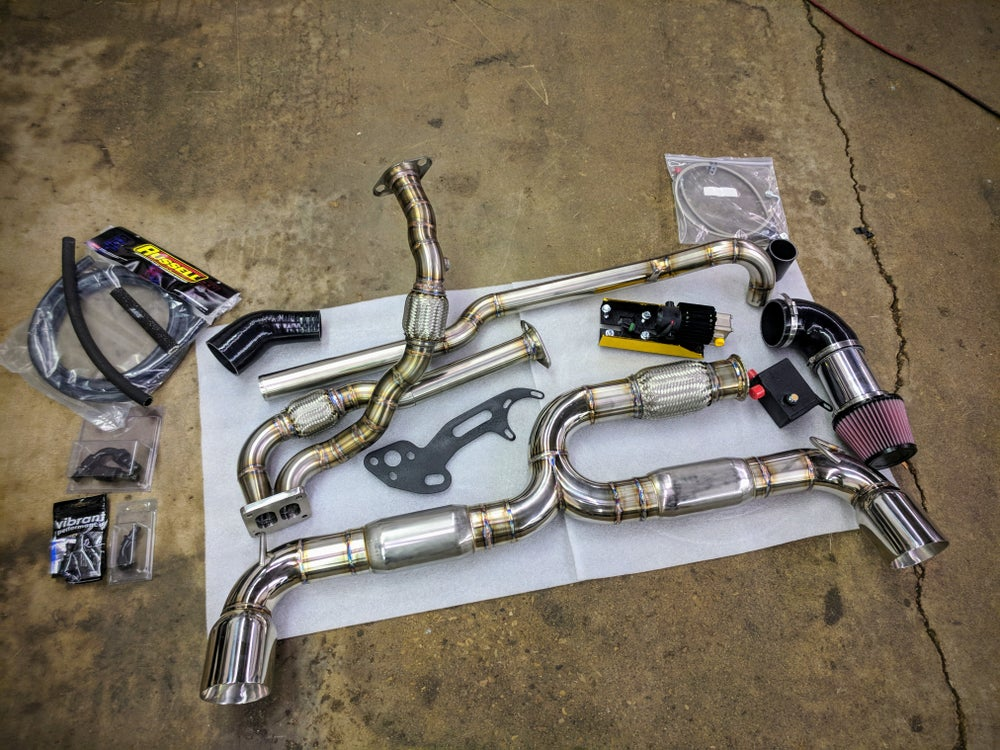 Image of Acura NSX Indy Turbo Hot Parts Kit