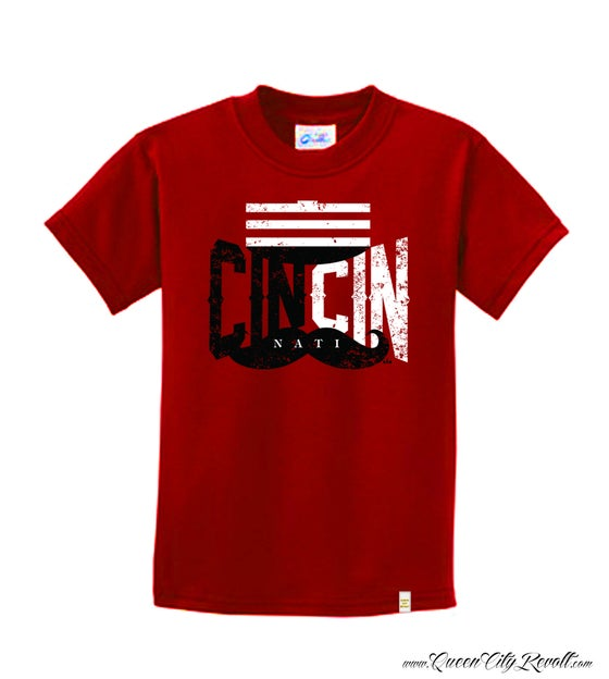 Image of Cin Cin Reds, Youth Tee, Red