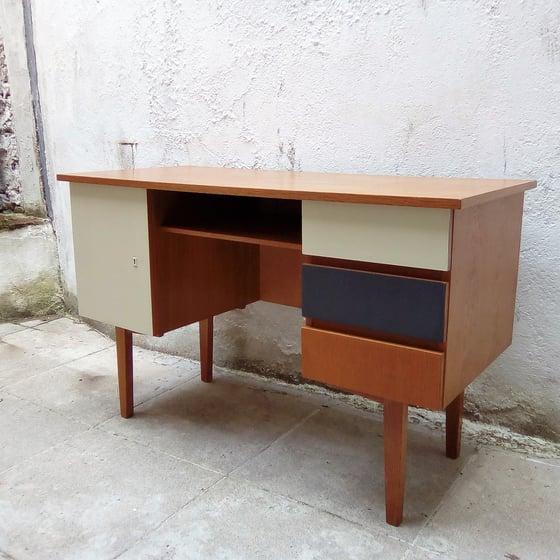 Image of Bureau années 60 peint