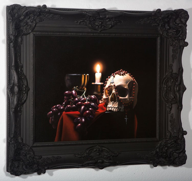 Image of Cam Rackam 'Dominion' original art
