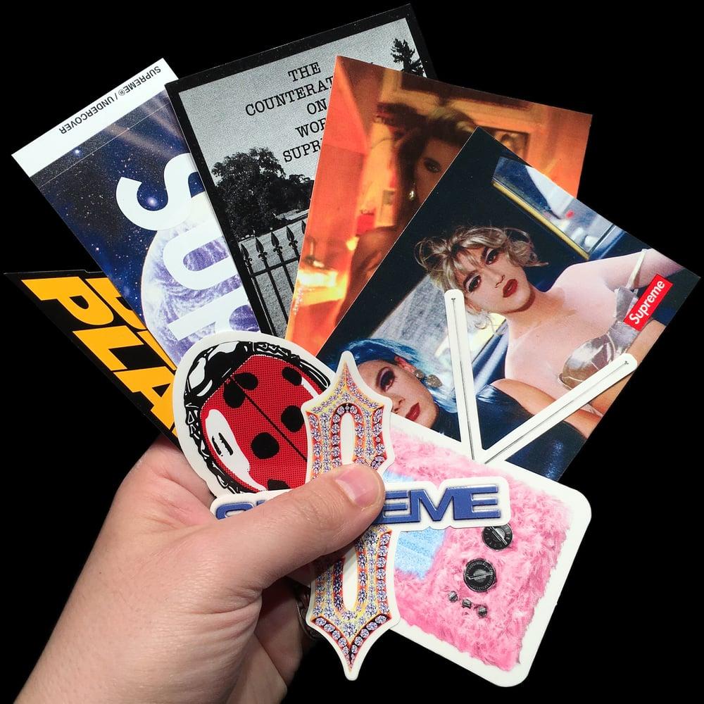 Image of 2018 SS Stickers (Undercover, Public Enemy, Diamond, Nan Goldin, TV, Ladybug)