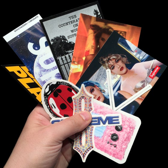 Image of SS18 Stickers (Undercover, Public Enemy, Diamond, Nan Goldin, TV, Ladybug)