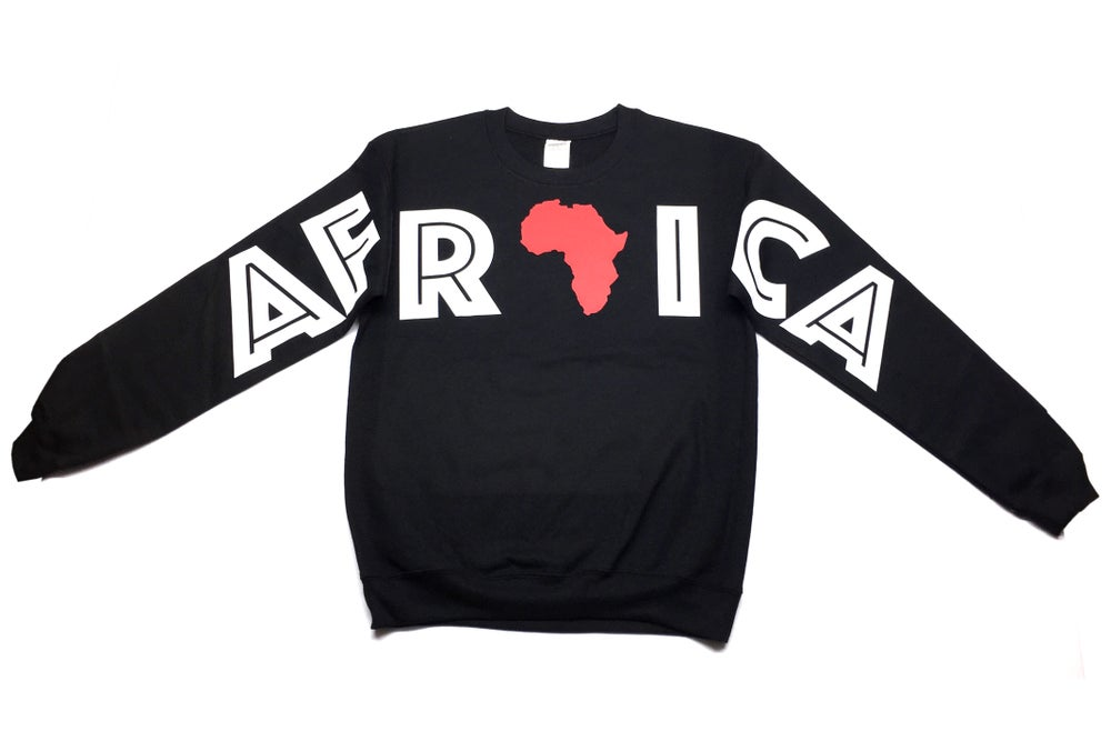 "Image of World Tour ""Africa"" Crew Neck Black"