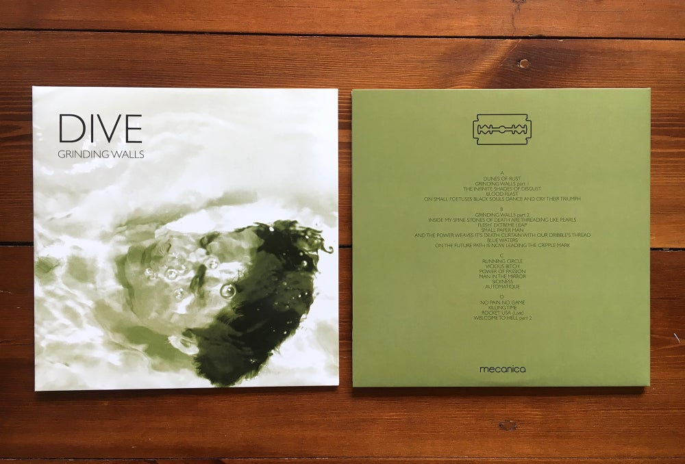 Image of Dive - Grinding Walls 2LP