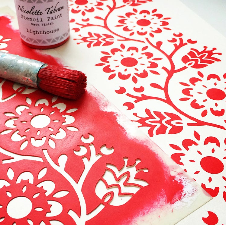 Image of Modern Stencil Workshop- Friday 25th May or Saturday 16th June