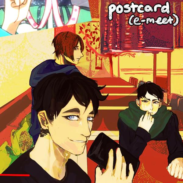Image of Friends Postcard Print
