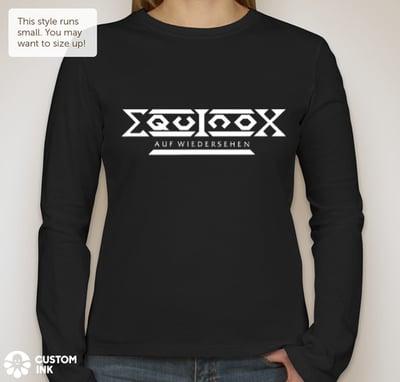 Image of Equinox Auf Wiedersehen Girlie Long-sleeve
