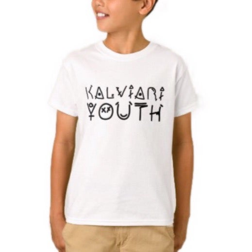 Image of KALVIARI YOUTH TSHIRT (4 COLORWAYS)