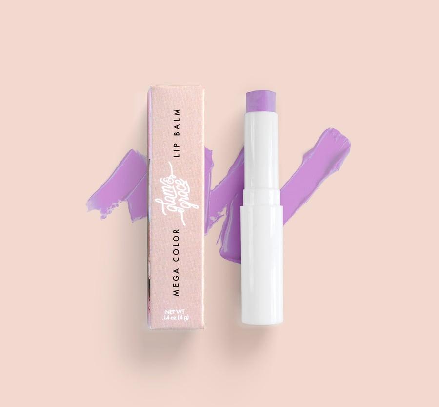 Image of Mega Color Lip Balm - Violet Orchid