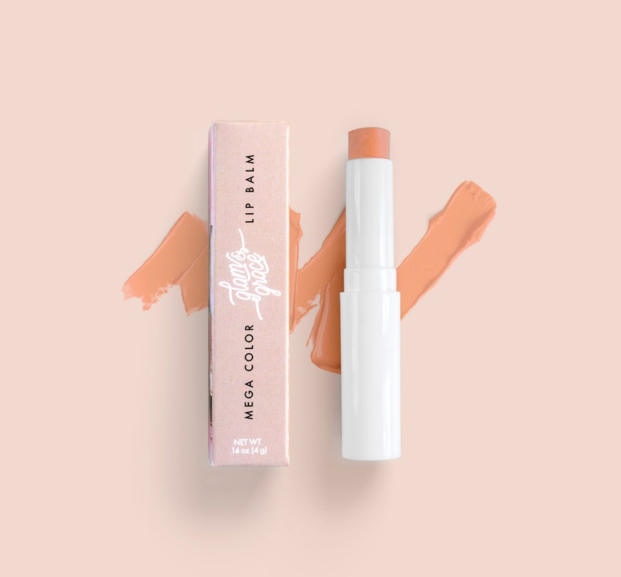 Image of Mega Color Lip Balm - Peachy Nude