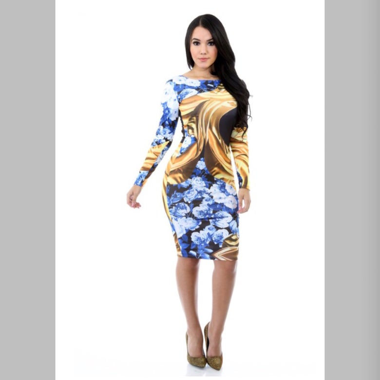 Image of Cloudy dress