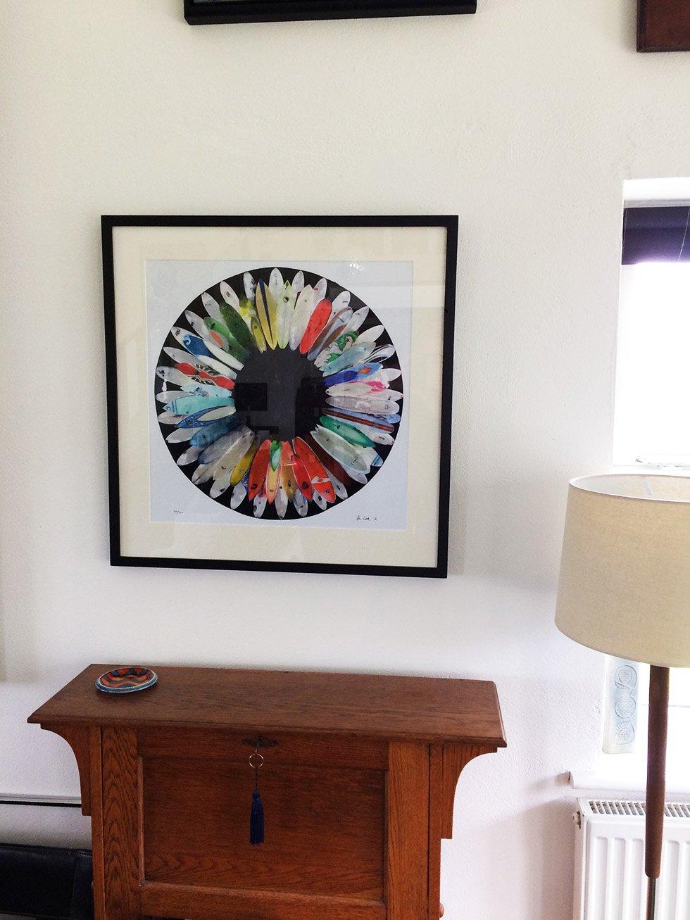 Image of Original Surf Flower Print