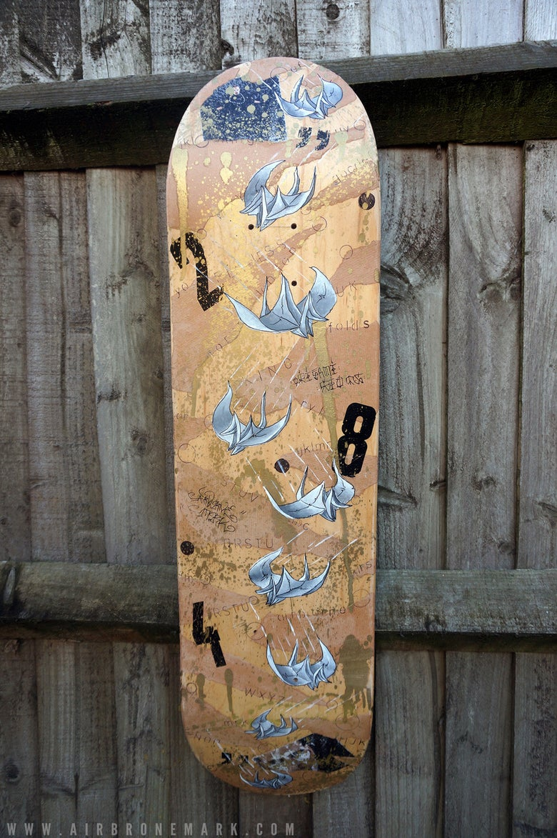 Image of Airborne Mark Skate Deck