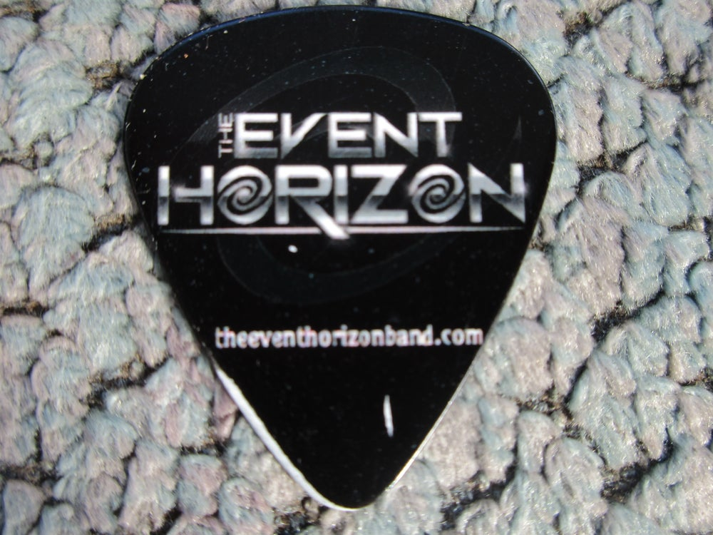 Image of Guitar Pick (Double Sided - Event Horizon/Dan Neary)
