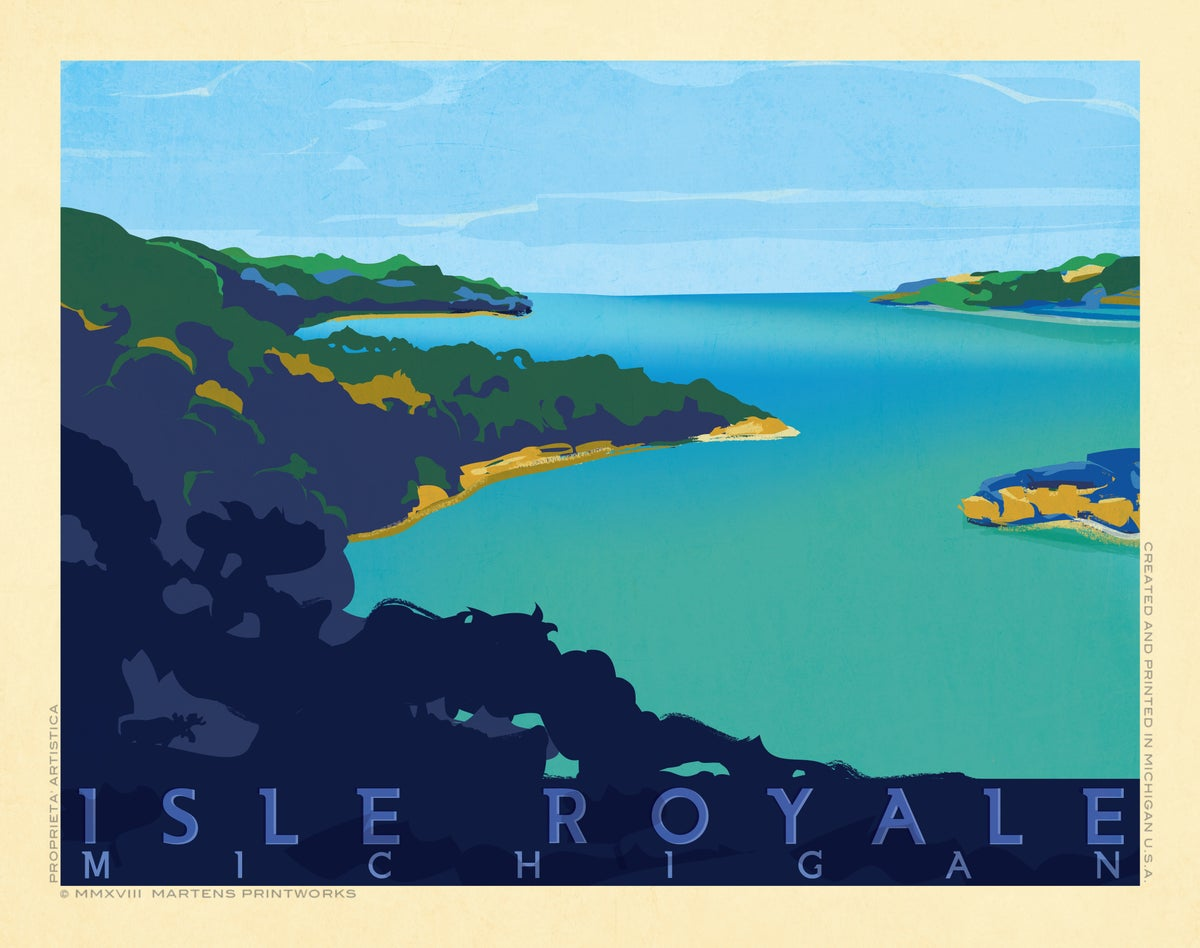 Image of Isle Royale 11x14 Print No. [076]