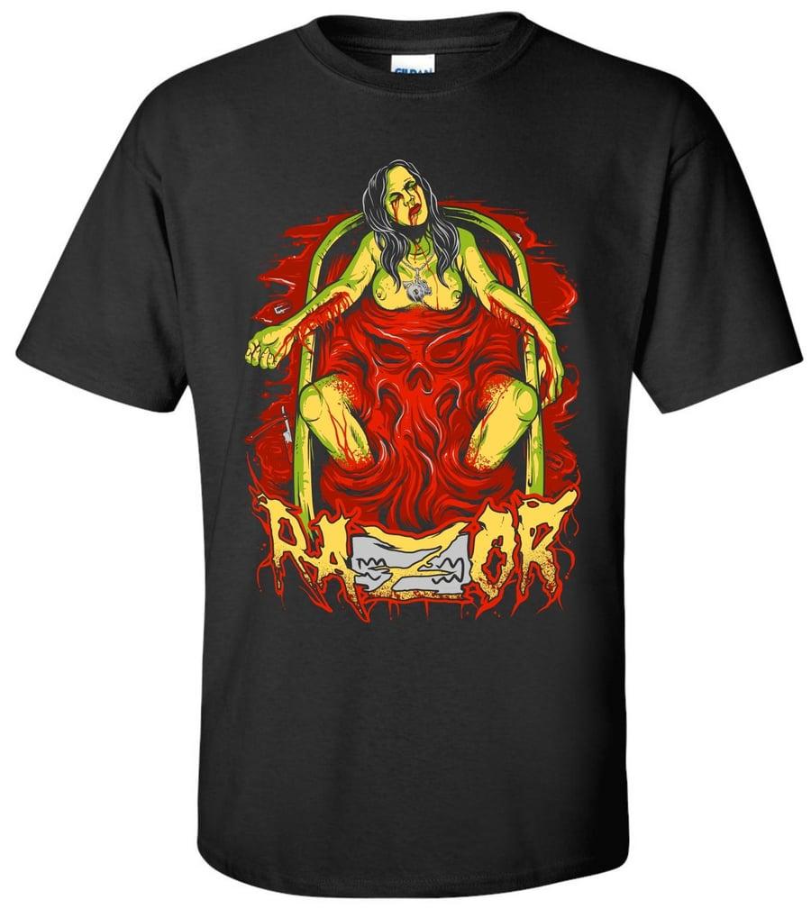 Image of RAZOR: Blood Bath Tall Tee shirt