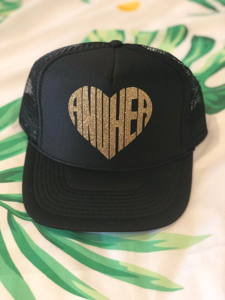 Image of Sparkly Anuhea Heart Hats