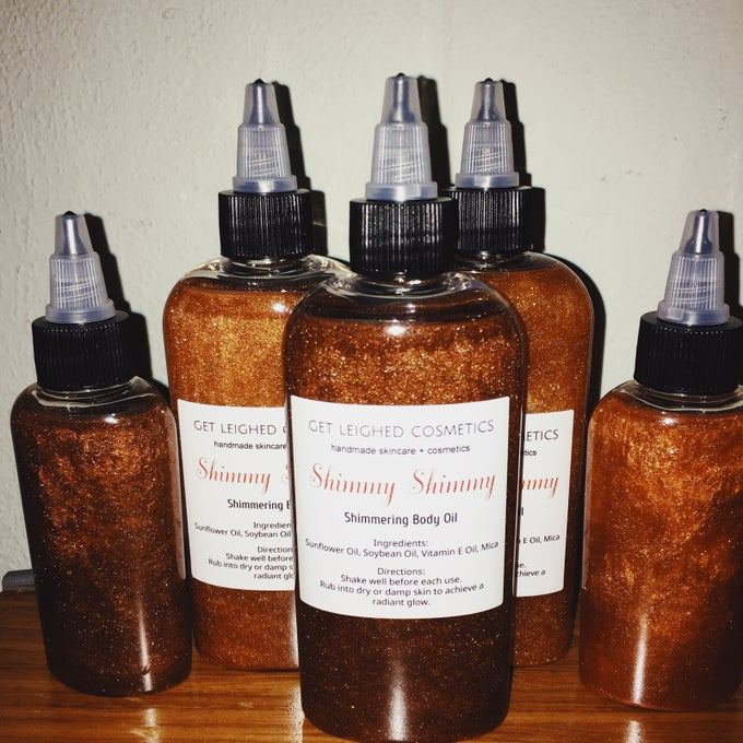 "Image of ""Shimmy Shimmy"" Body Oils"