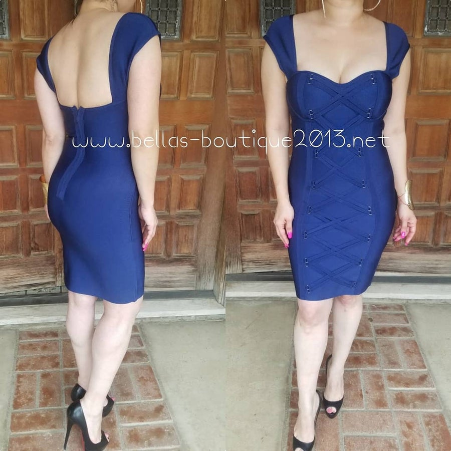 Image of Celeste Bandage Dress