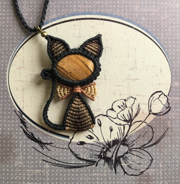 Image of Kitty necklace 03/04/2018