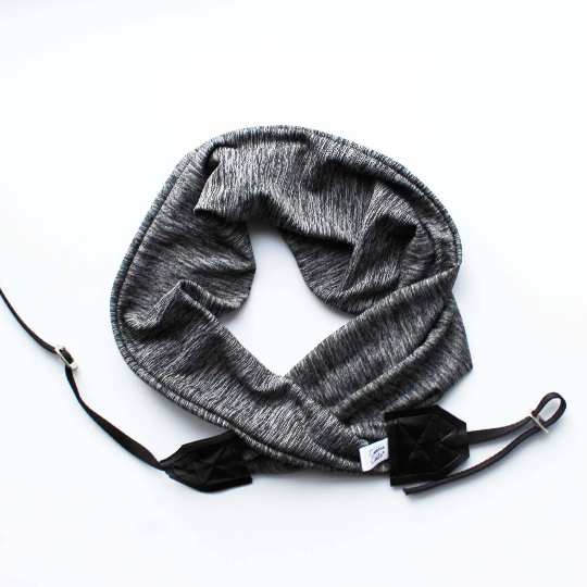 Image of Camera Strap Soft Knit Fabric Top Photographer Gift 2019 - Black - Cross body