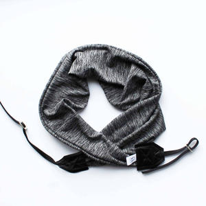 Image of Camera Strap Soft Knit Fabric Top Photographer Gift 2018 Gray Arrows - Black - Crossbody