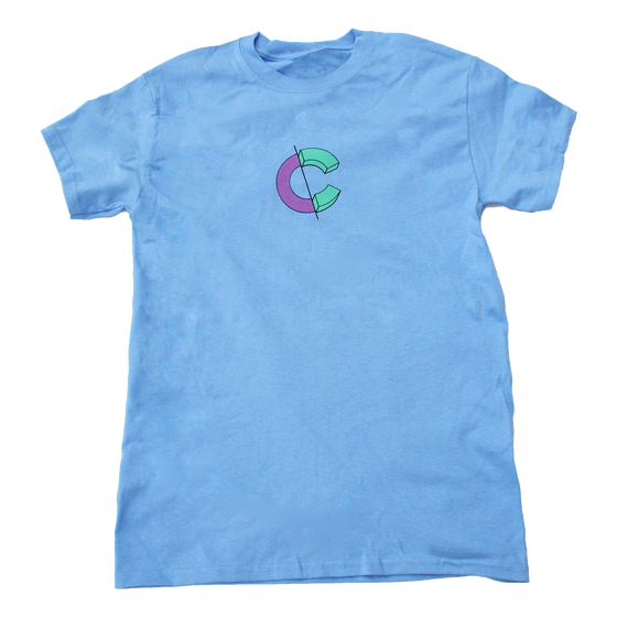 Image of Stack Tee - Blue