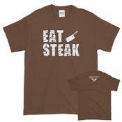 Image of Butcher Block Wheel Co EAT STEAK Tee