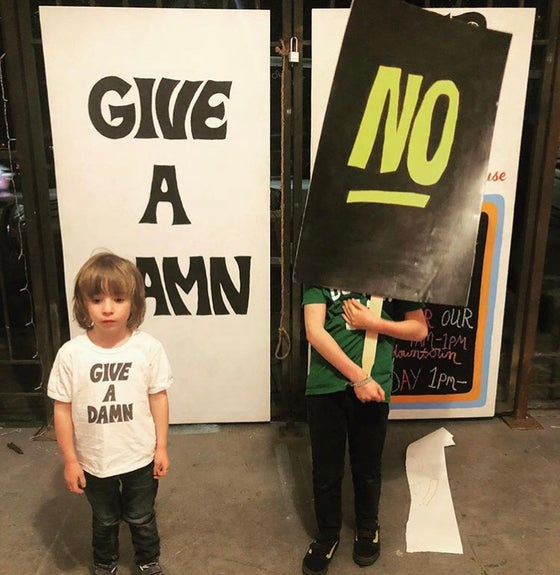 Image of KIDS GIVE A DAMN